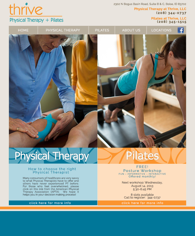 Thrive Physical Therapy and Pilates
