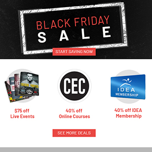 Black Friday Deals Email