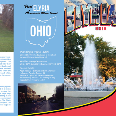 Elyria, Ohio Travel Brochure